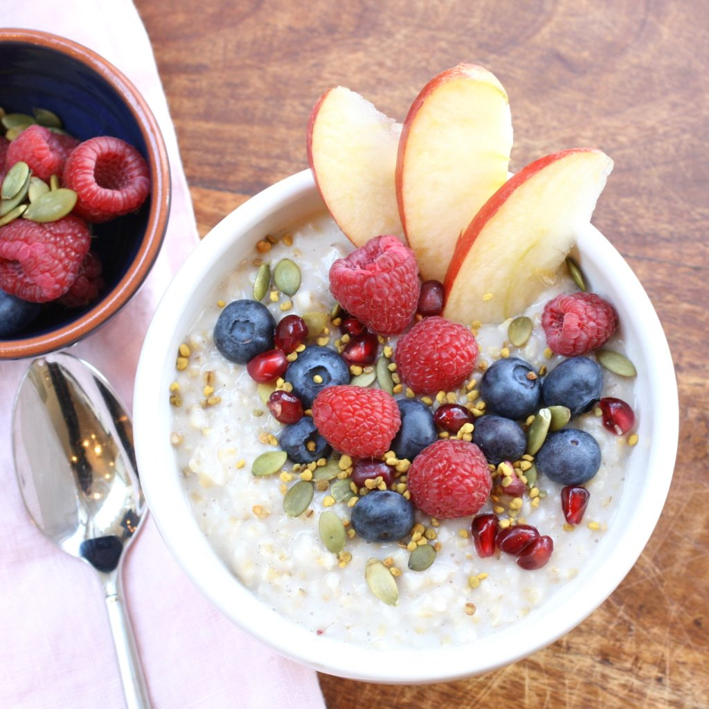 Delicious overnight steel cut oats