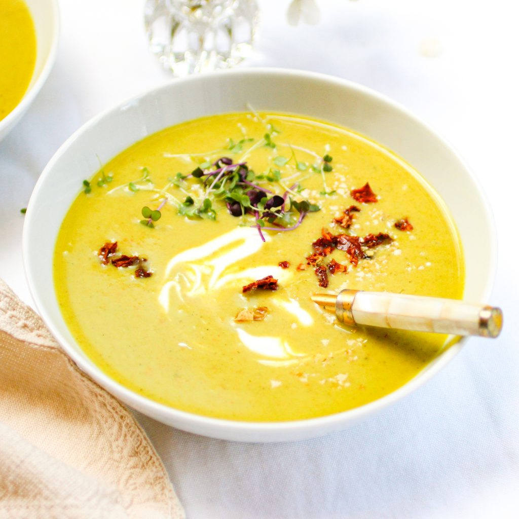 Broccoli and Coconut Soup